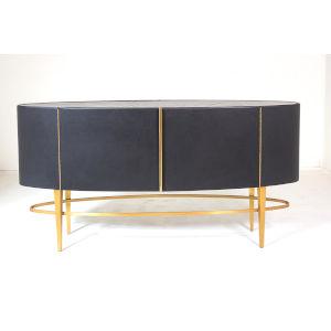Ellipse Brushed Brass Sideboard