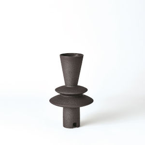 Studio A Home Black Adelyn Geometric Vase
