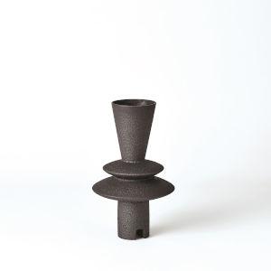 Studio A Home Black Adelyn Geometric Vase
