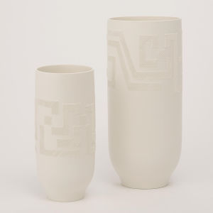 Studio A Home Matte White Large Chaco Vase