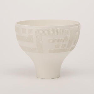 Studio A Home Matte White Chaco Bowl