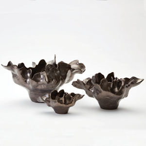 Meteor Small Bronze Bowl