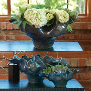 Meteor Blue Large Bowl