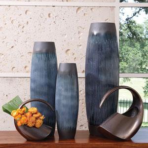 Ink Blue Medium Matchstick Vase Only