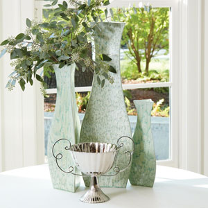 Bermuda Green Large Vase