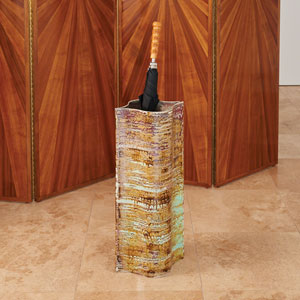 Extruded Rust Large Vase