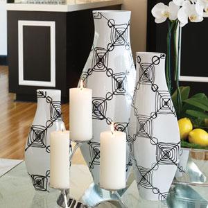 Coil Large Vase