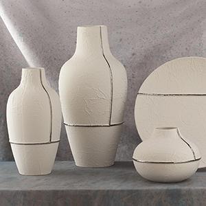 Parchment Medium Vase