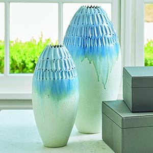 Cut Carved Cloud Largest Vase