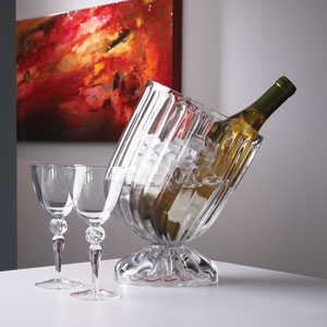Clear Optic Slanted Wine Chiller