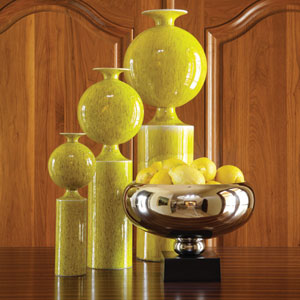 Citron Pill Medium Vase