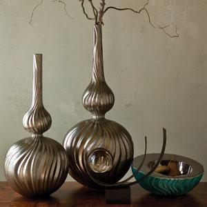 Magura Metallic Large Vase