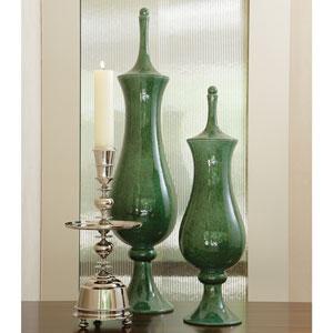 Tower Small Emerald Jar