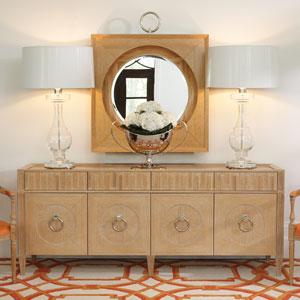 French Key Light Limed Oak Everything Cabinet
