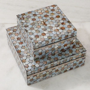 Mother of Pearl Large Box