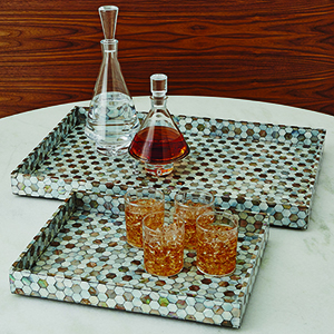 Mother of Pearl Large Tray
