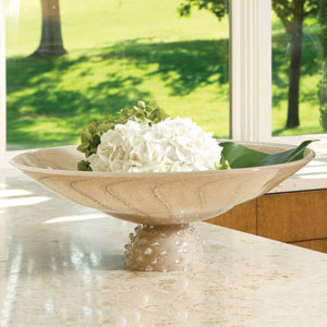 Shimmering Palace Footed Bowl