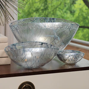 Blue Large Spark Bowl