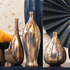 Golden Fingerprint Medium Bottle