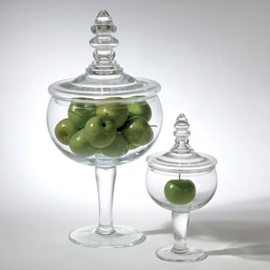 Glass Apothecary Small Jar