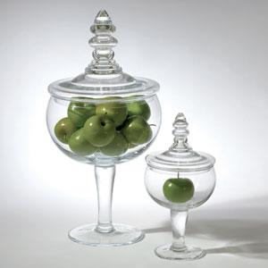 Glass Apothecary Large Jar