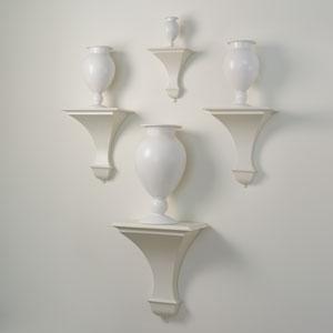 Blair White Medium Wall Bracket