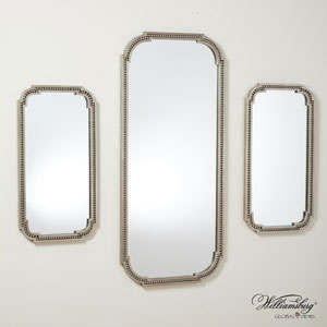 Forged Pearl Large Mirror