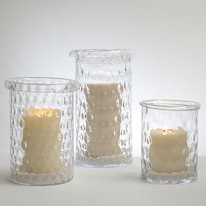 Honeycomb Small Hurricane Vase