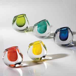 Color Drop Aqua Vase