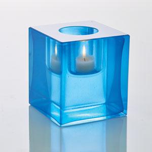 Block Cobalt T-Lite Holder