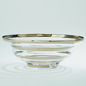 Saturn Platinum Bowl