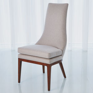 Studio A Isabella Candid Fleece Dining Chair