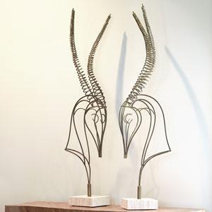 Studio A Springbok Sculpture