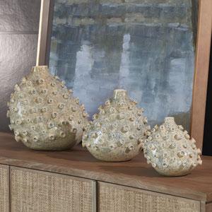 Studio A Small Sea Coral Blue and Green Vase