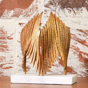 Studio A Icarus Brass Sculpture