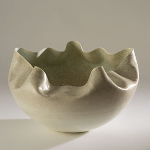 Studio A Cambrian Ivory and Sand Bowl