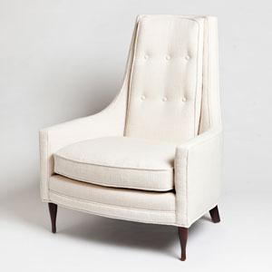 Studio A Wayne Ivory Chair