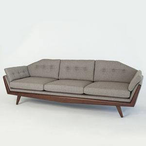 Studio A Greta Margo Pewter Sofa