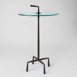 Studio A Quad Pod Natural Iron Accent Table