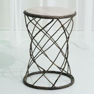 Studio A Tango Bronze Accent Table