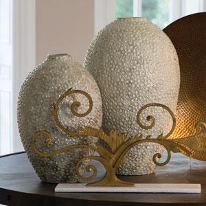 Studio A Celestial Golden Large Vase