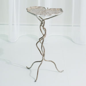 Studio A Eden Silver Leaf Accent Table