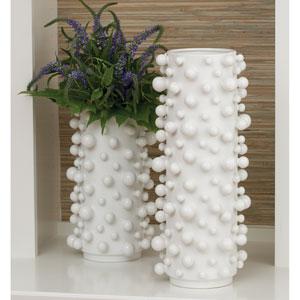 Studio A Molecule Large Matte White Vase