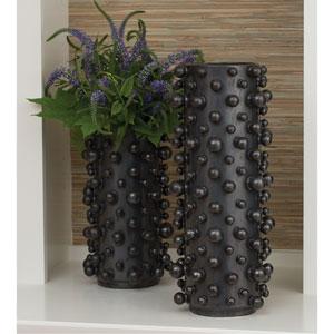 Studio A Molecule Graphite Small Vase