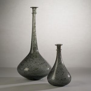 Studio A Pompeii Gray Granilla Large Vessel