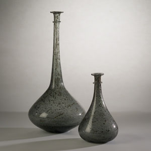 Studio A Pompeii Gray Granilla Small Vessel
