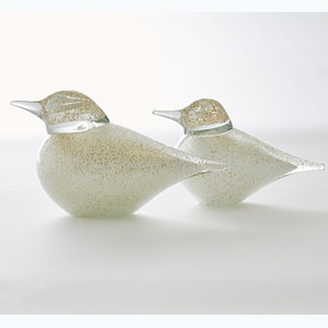 Studio A Granilla Small Glass Bird