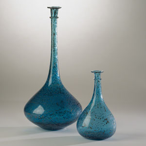 Studio A Pompeii Blue Granilla Large Vessel
