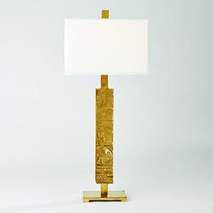 Studio A Pimlico Brass One-Light Table Lamp