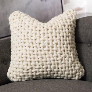 Studio A Noodle Felt Bone Pillow